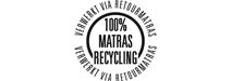 100% matras recycling
